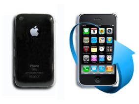 Remplacement coque Iphone 3G et 3GS (noire)