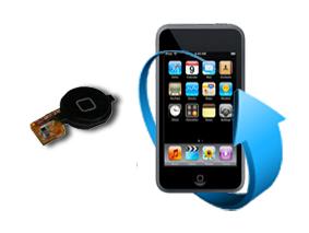 Remplacement nappe bouton home Ipod Touch V1-V2-V3-V4