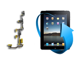 Remplacement nappe Power Volume Ipad 2