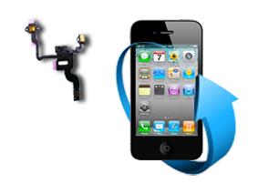Remplacement nappe bouton power + capteur proximité iphone 4S