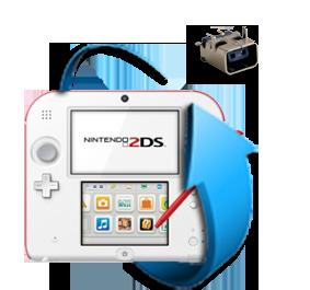 Remplacement connecteur charge Nintendo 2DS