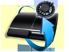 Remplacement ventilateur PS3