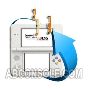Remplacement nappe bouton ZL/L ou ZR/R Nintendo New 3DS
