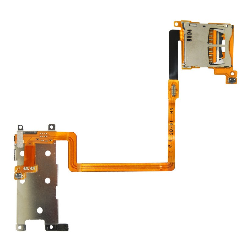 Nappe Port SD et touches L et R  Nintendo DSi