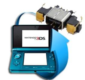 Remplacement connecteur charge Nintendo 3DS