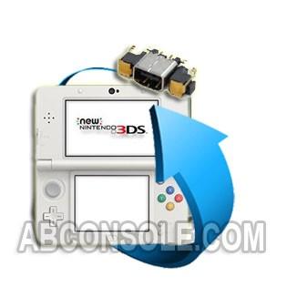 Remplacement connecteur charge Nintendo New 3DS