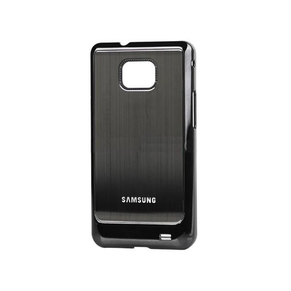 Coque de protection electro pour Galaxy S2 (noire)