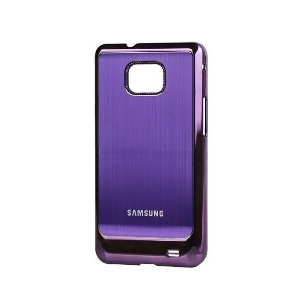Coque de protection electro pour Galaxy S2 (violet)