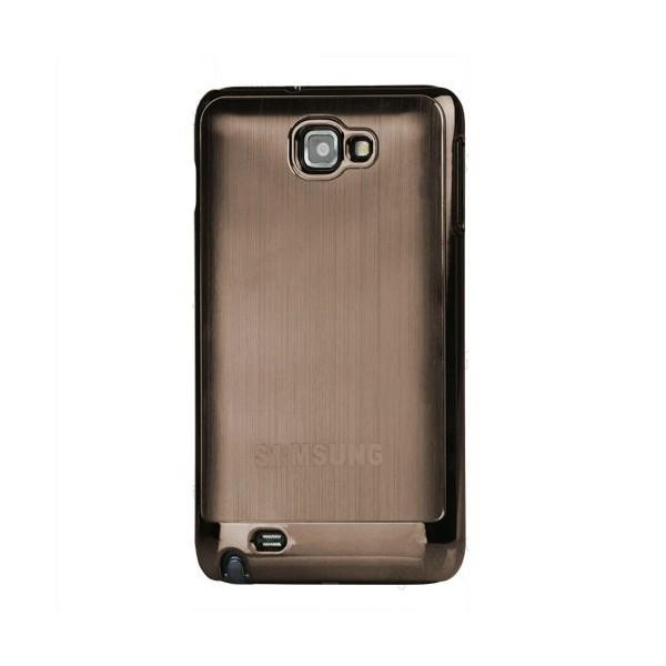 Coque de protection métalisée Galaxy Note (marron)