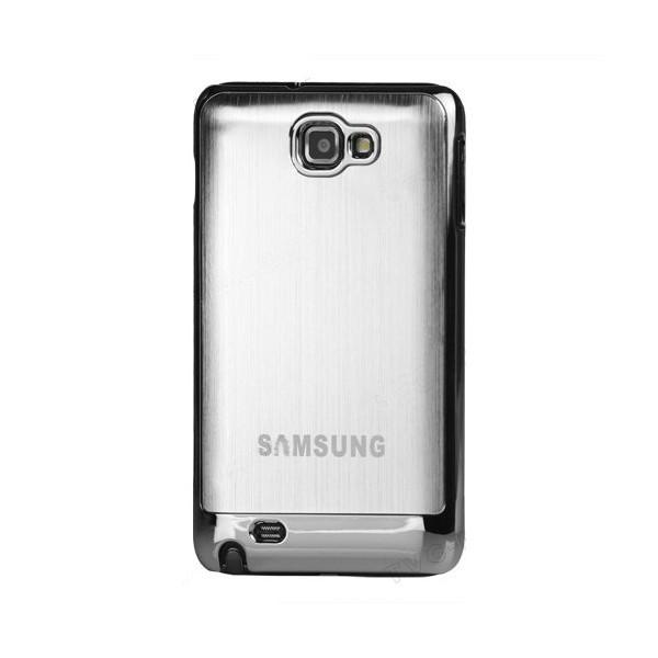 Coque de protection métalisée Galaxy Note (silver)