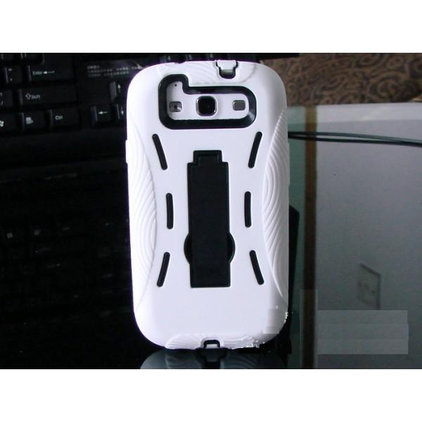 Coque survivor pour Samsung Galaxy S3 (blanc)