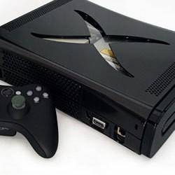 Boitier tuning Xbox 360 Caméléon noir