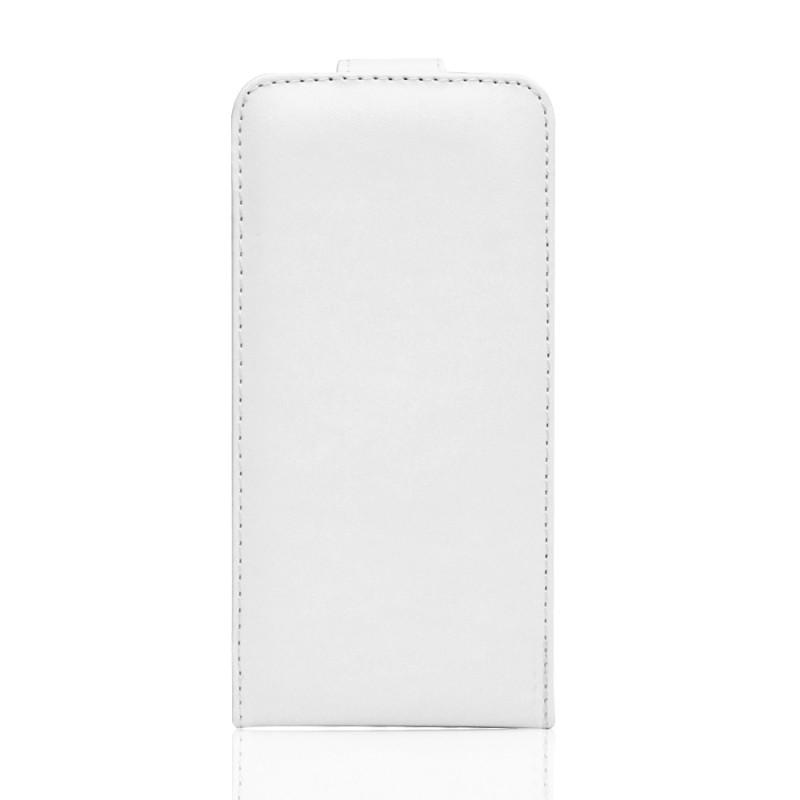 Housse en simili cuir Iphone 7 (blanche)