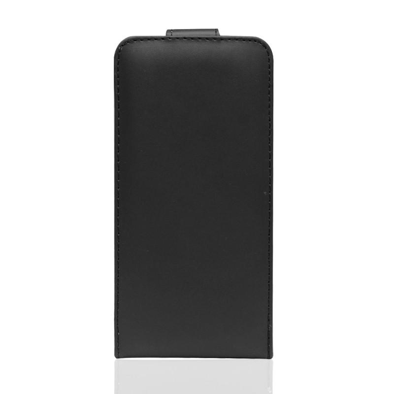 Housse en simili cuir Iphone 7 Plus (noire)