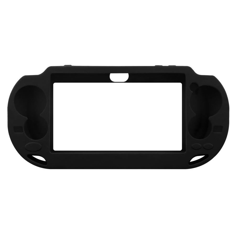 Coque silicone pour PSP VITA (noir)