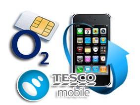 Déblocage iPhone bloqué O2 / Tesco (UK)