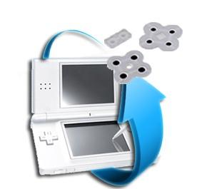 Remplacement Contacteurs (Caoutchoucs) Nintendo DS Lite