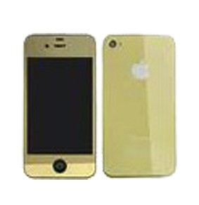 Kit complet coque iphone 4 Or Chromé