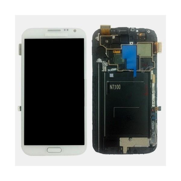 Ecran samsung Galaxy Note 2 Blanc (N7100)