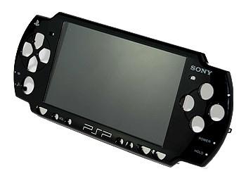 Façade PSP Slim noire