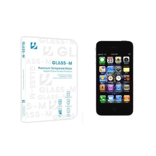 Film de protection en verre trempé pour  iphone 4 et 4S