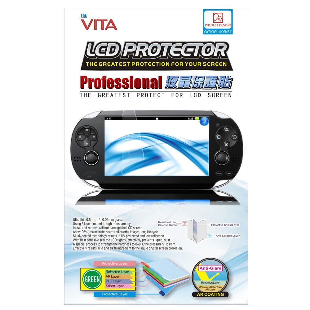 Film protection écran PSP VITA