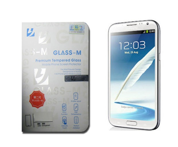 Film de protection en verre trempé Glass M pour Samsung Galaxy Note 2