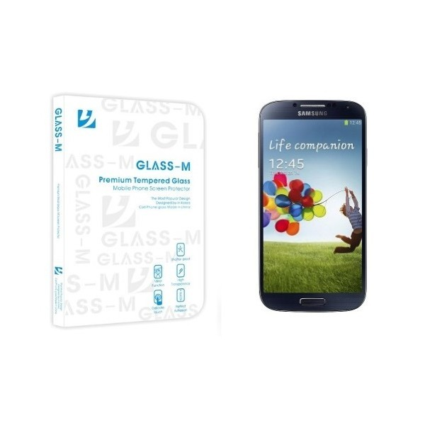 Film de protection en verre trempé Glass M pour Samsung Galaxy S4