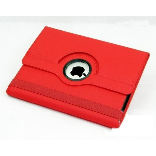 Housse protection 360° Ipad 2/3/4 (rouge)