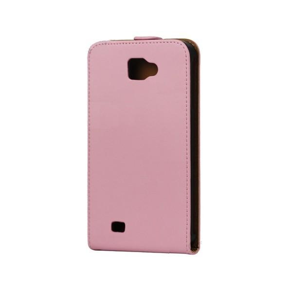 Housse en cuir pour Galaxy Note (rose)