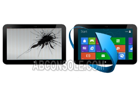 Remplacement écran LCD HP Envy X2