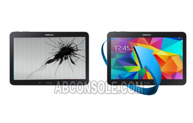 "Remplacement LCD + Vitre tactile Galaxy Tab S 10.5"" (T800) Noir"