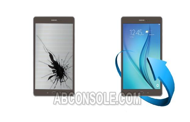 """Remplacement Vitre Tactile + Ecran LCD Samsung Galaxy Tab E 9.6"""" (T-560) Noir"""
