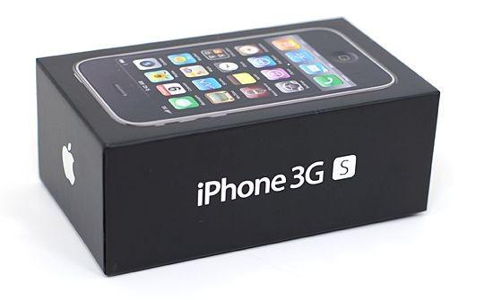 Boite Iphone 3GS noir vide