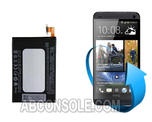 Remplacement batterie HTC One M7