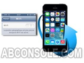 Réparation Wifi Grisé sur iPhone