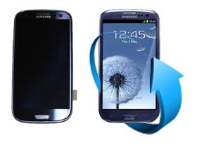 Remplacement écran Samsung Galaxy S3 bleu (i9300/ i9305)