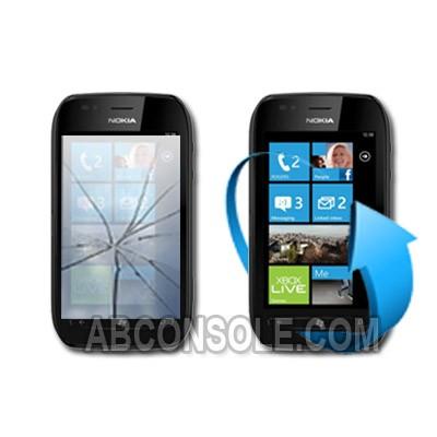 Remplacement vitre tactile Nokia lumia 710