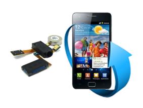 Remplacement nappe écouteurs et vibreur Samsung Galaxy S2 (i9100)