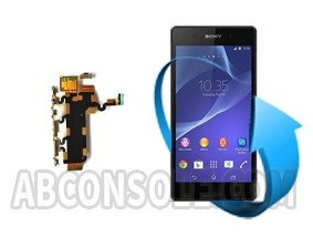 Remplacement nappe volume Sony Xperia Z2