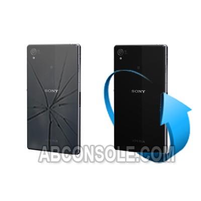 Remplacement vitre arrière Sony Xperia Z1