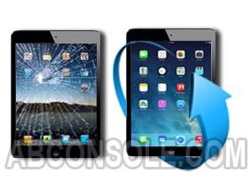 Remplacement vitre tactile iPad Air (noir)