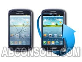 Remplacement écran Samsung Galaxy S3 Mini bleu (i8190)