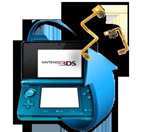 Remplacement nappe bouton L ou R Nintendo 3DS XL
