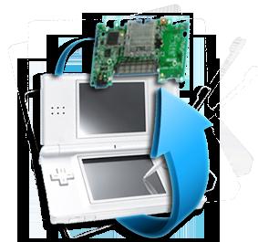 Remplacement carte mère Nintendo DS Lite