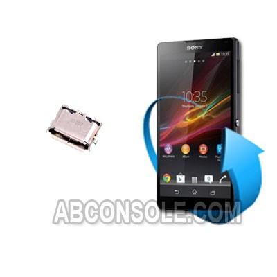 Remplacement connecteur de charge Sony xperia z (L36h)