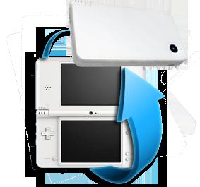 Remplacement coque Nintendo DSi XL
