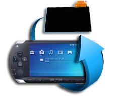 Remplacement écran LCD PSP Slim 3000