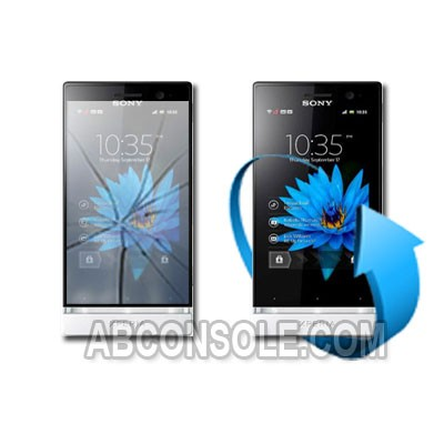 Remplacement vitre tactile Sony xperia u