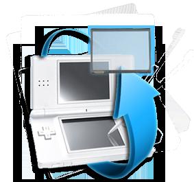 Remplacement écran tactile Nintendo DSLite